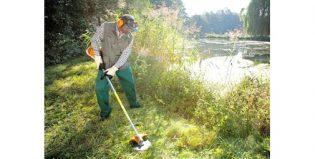 Per falciare l'erba attorno a casa e in giardino